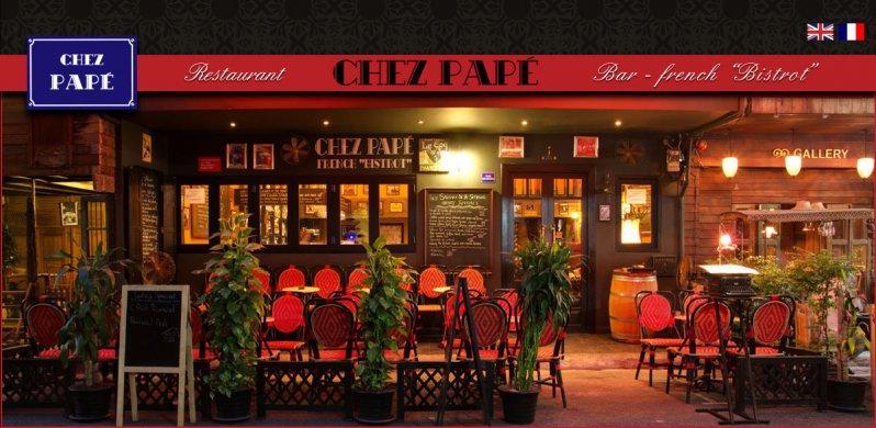 Chez Pape, un restaurant Français abordable