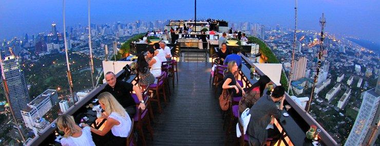 Rooftop bar vertigo et octave bar sortir bangkok for Living room jozi